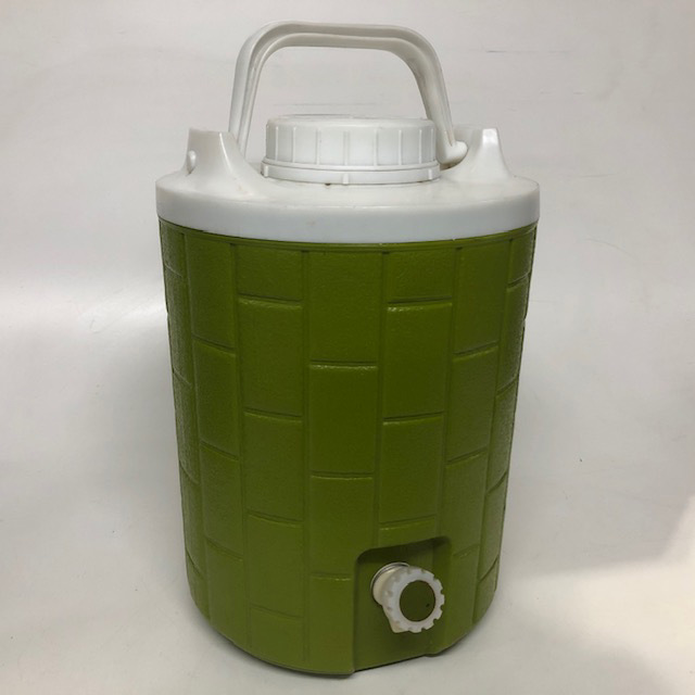 COO0111 COOLER, Water - Olive Green White $7.50