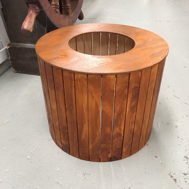 BAR0004 BARREL, Slatted $30