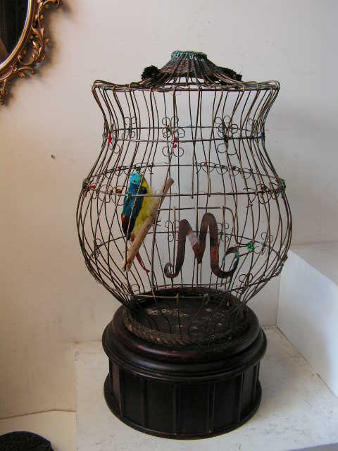 BIR0116 BIRDCAGE, Ornate - Large (with Optional Cover) $50
