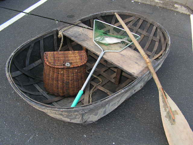 BOA0003 BOAT, Small Rustic Timber Row Boat $125