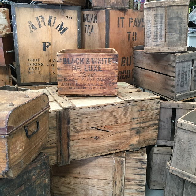 Assorted Crates & Tea Chests