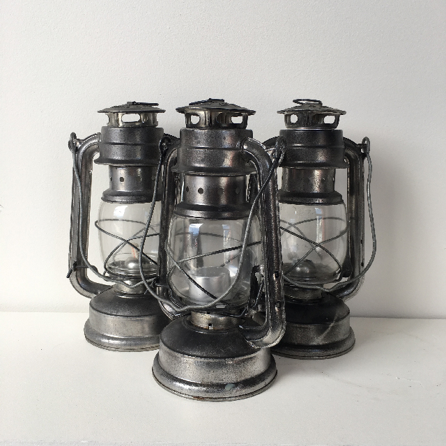 LAN0016 LANTERN, Hurricane - Tealights Small $7.50