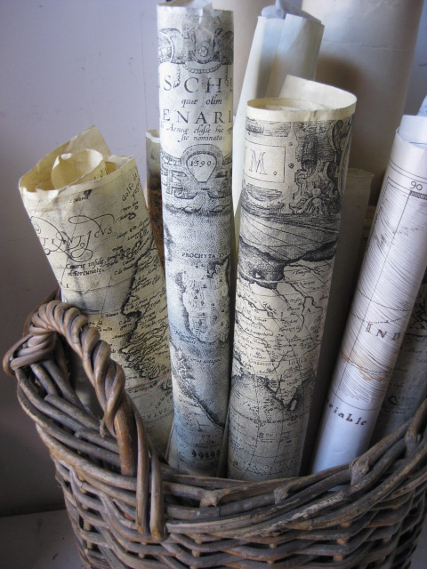 MAP0005 MAP, Assorted Nautical & Treasure $2.50