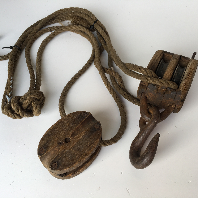 ROP0009 ROPE, Pulley Attached $22.50