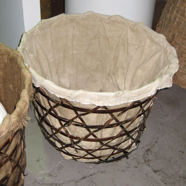 Basket - Large - Open Weave with Lining