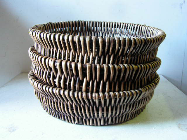 Baskets - Shallow - Set of 3