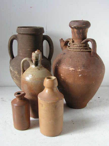 Stoneware Vessels - Assorted