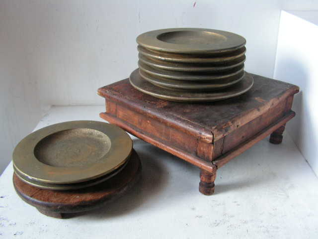 Wooden Plates - Assorted