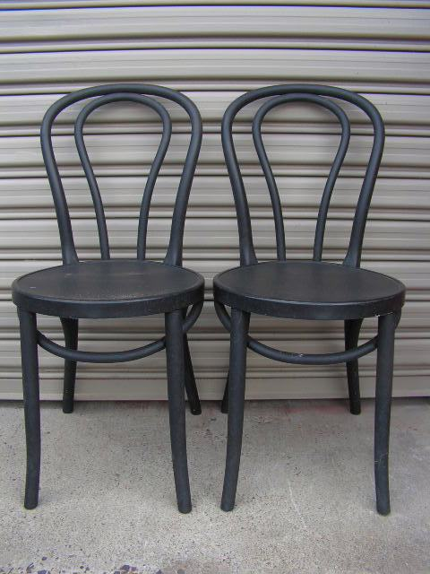 Chairs - black Bentwoods