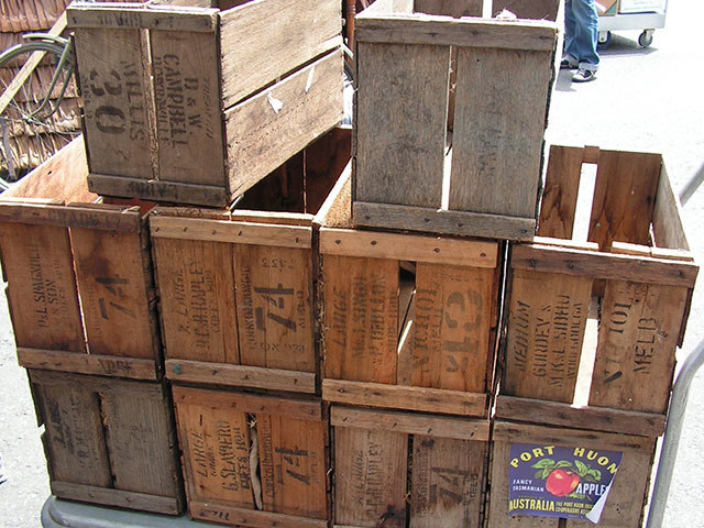 Crates - small fruit crates