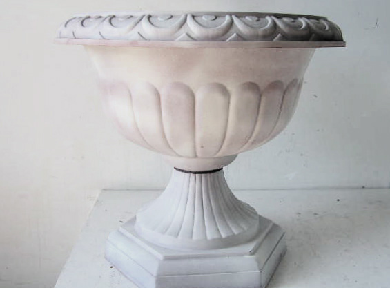 URN0003 URN, Off White - Medium (44cm Dia x 40cm High) $15