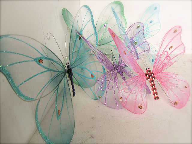 Assorted Butterfly Props