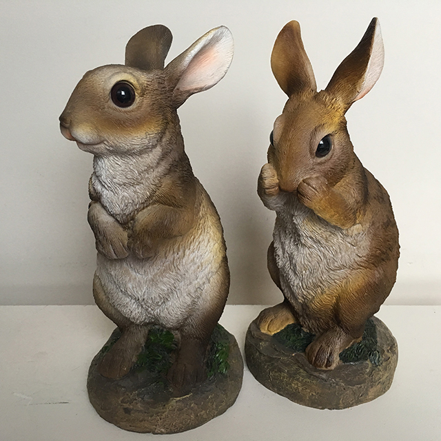 RAB0009 RABBIT, Ceramic Lifelike 30cm High $12.50