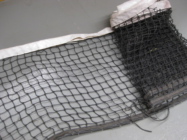 TEN0010 TENNIS NET, Aged Full Size (Net Only) $45