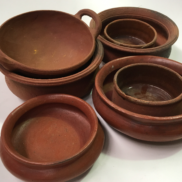 BOW0027 BOWL, Terracotta Assorted $4.50