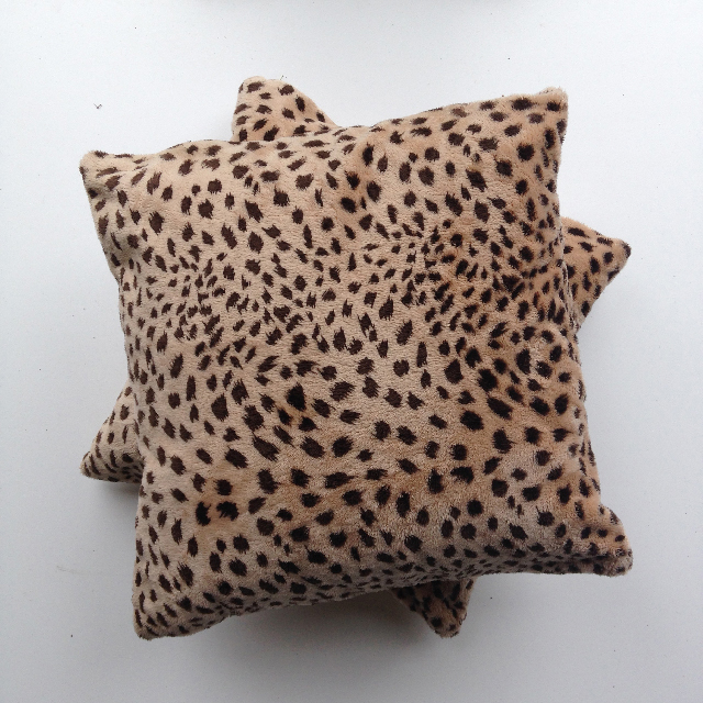CUS0081 CUSHION, Animal Print - Leopard 1 $10