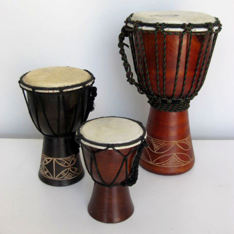 DRUM, Tribal Bongo - Large, Medium or Small $5 - $12.50