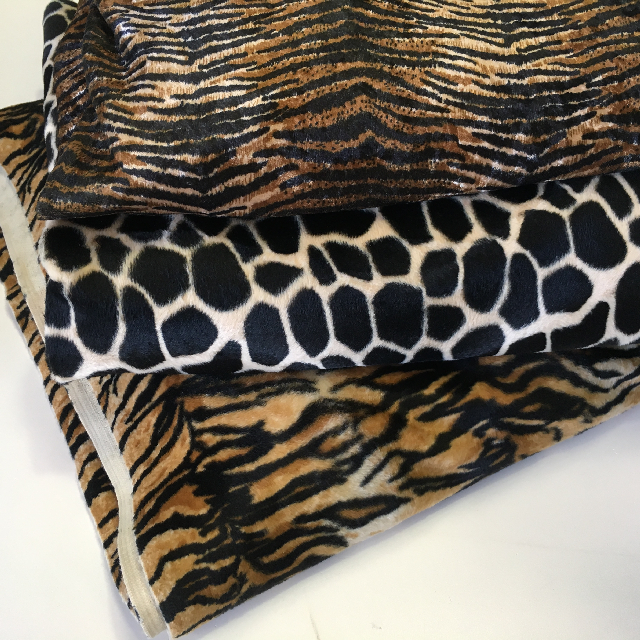 FAB0017 FABRIC, Animal Prints (Assorted Lengths) $18.75