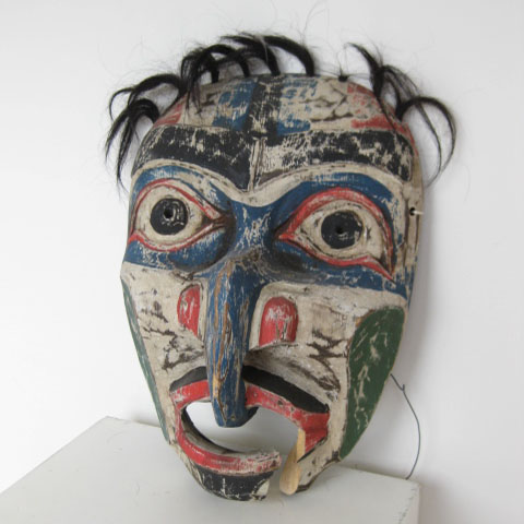 MAS0013 MASK, Painted Tribal Assorted $22.50 (one of)