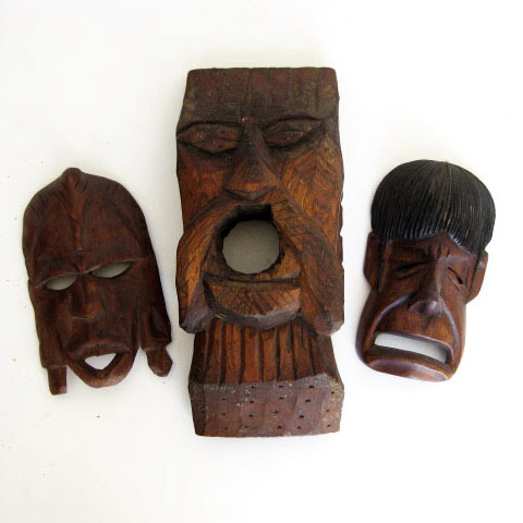 MAS0011 MASK, Small - Tribal Assorted $6.25