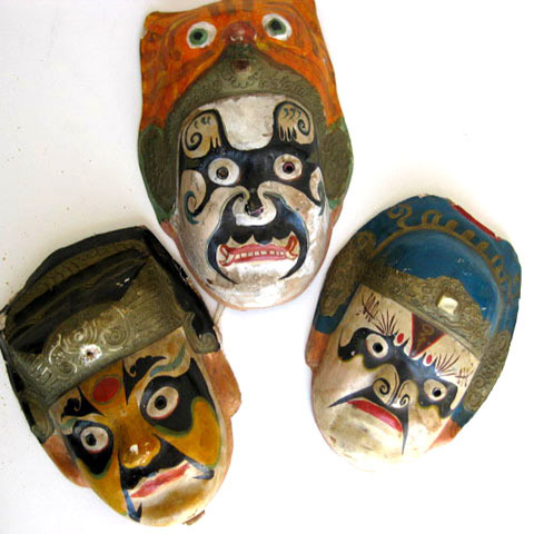 MAS0015 MASK, Painted - Indonesian $15