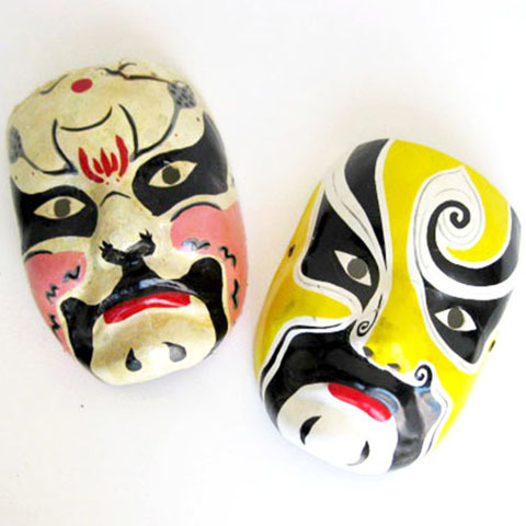 MAS0014 MASK, Painted - Japanese $15