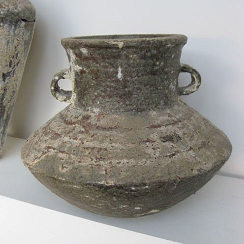 POT0105 POT / URN, Rustic Stone Look - Large (Short) $37.50