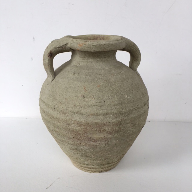 POT0109 POT / URN, Rustic Terracotta - Cream Medium $11.25