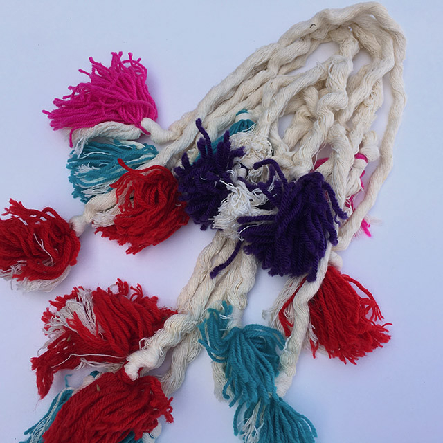 TRI0020 TRIM, Tribal Tassle - Assorted $2.50