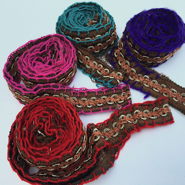 TRI0021 TRIM, Tribal Braid - Assorted $6.25