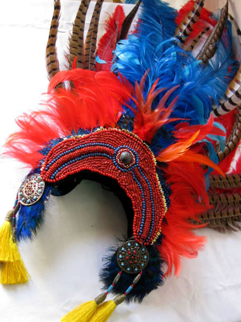 HEA0010 HEADDRESS, Tribal $30