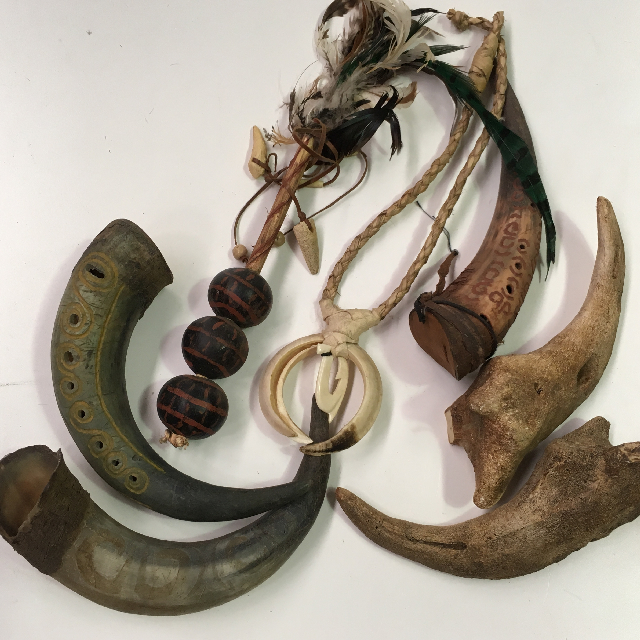 Assorted Witch Doctor Props
