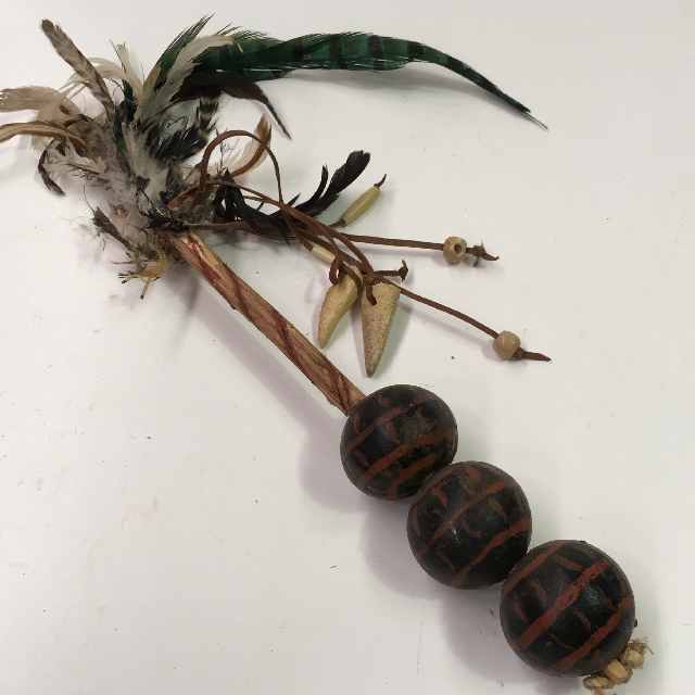 WIT0003 WITCH DOCTOR PROP, Rattle $12.50