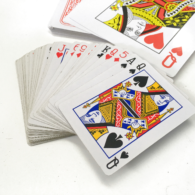 PLA0052 PLAYING CARDS, Standard Size 6 x 9cm H $2.50