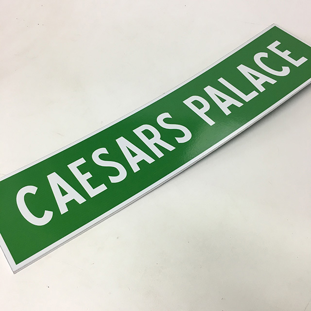 SIG0370 SIGN, Vegas Street Sign - Caesars Palace $12.50