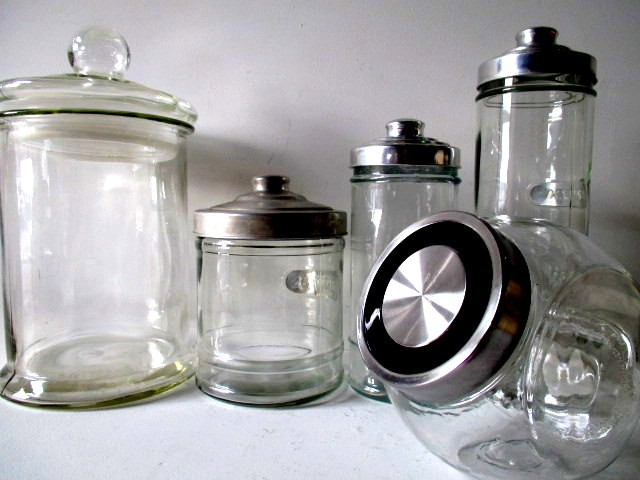 Assortment of Lolly Jars