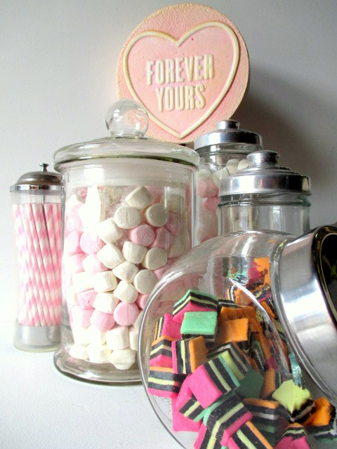 Lolly Jar Display