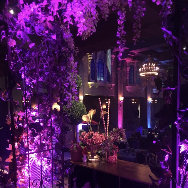 Willy Wonka Event Styling - Floral Arch Detail