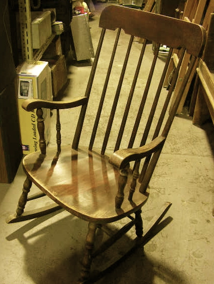 CHA0800 CHAIR, Rocking Chair - Classic Timber $50