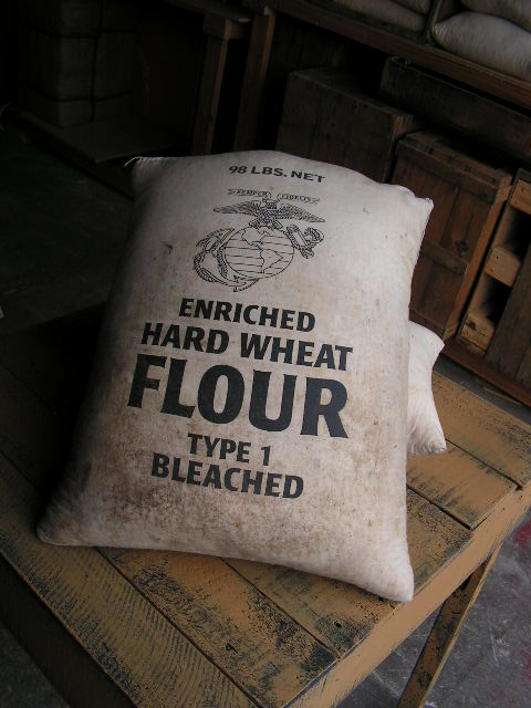 SAC0004 SACK, Cotton - Hard Wheat Flour - Small $12.50