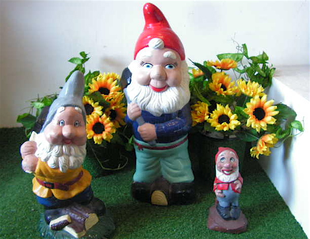 GARDEN, Gnomes Assorted Sized $6.25 - $11.25