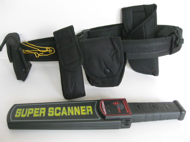 AIR0018 AIRLINE SECURITY SCANNER BELT, Black $20