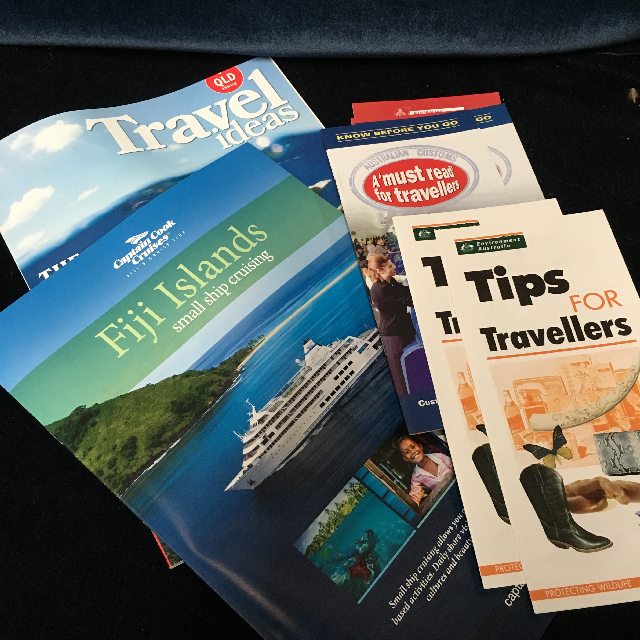TRA0105 TRAVEL BROCHURE, Assorted $0.50