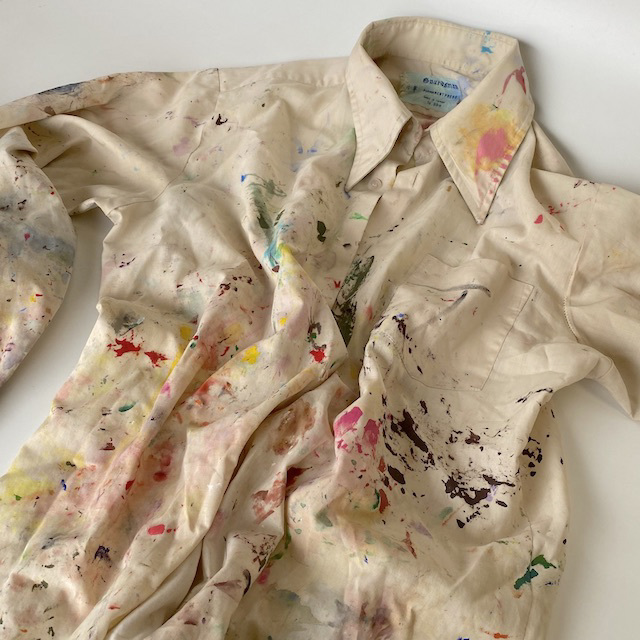 ART0603 ART SMOCK, Paint Shirt $15
