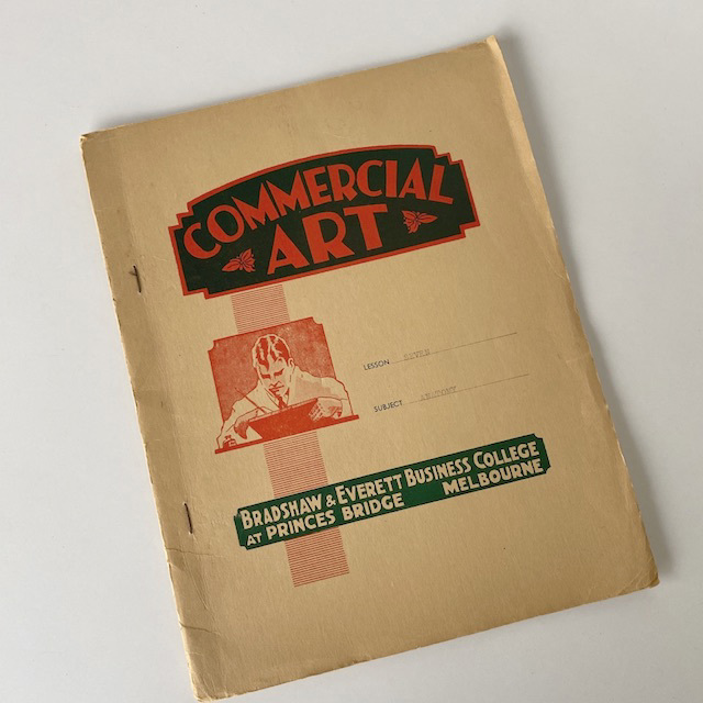 BOO0171 BOOK, Commercial Art 1940's $6.25