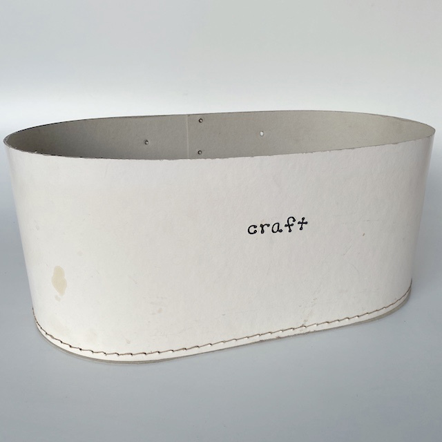 CRA0152 CRAFT BOX, White Card $3.75