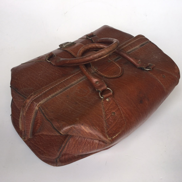 BAG0027 BAG, Gladstone Style - Brown Squat $18.75