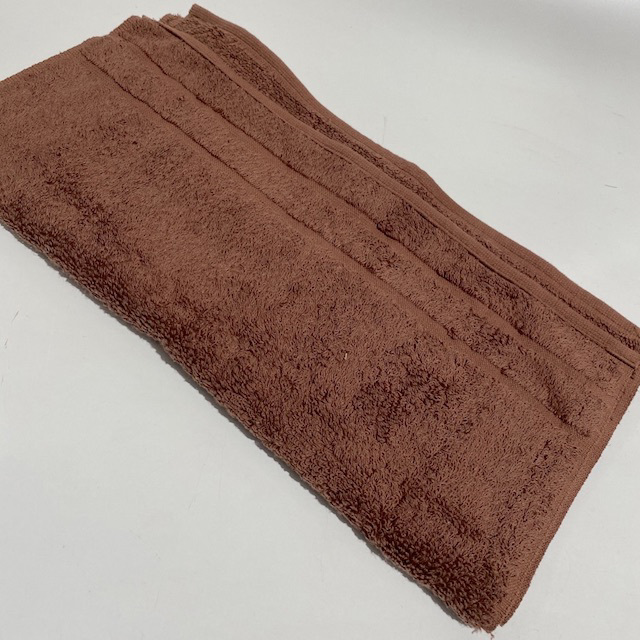 TOW0020 TOWEL, Brown $3.75