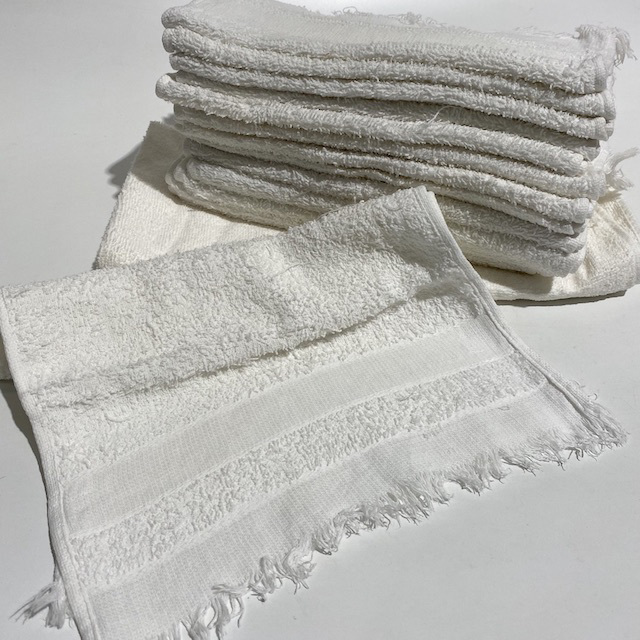TOW0021 TOWEL, Small White Neck or Face $3.75