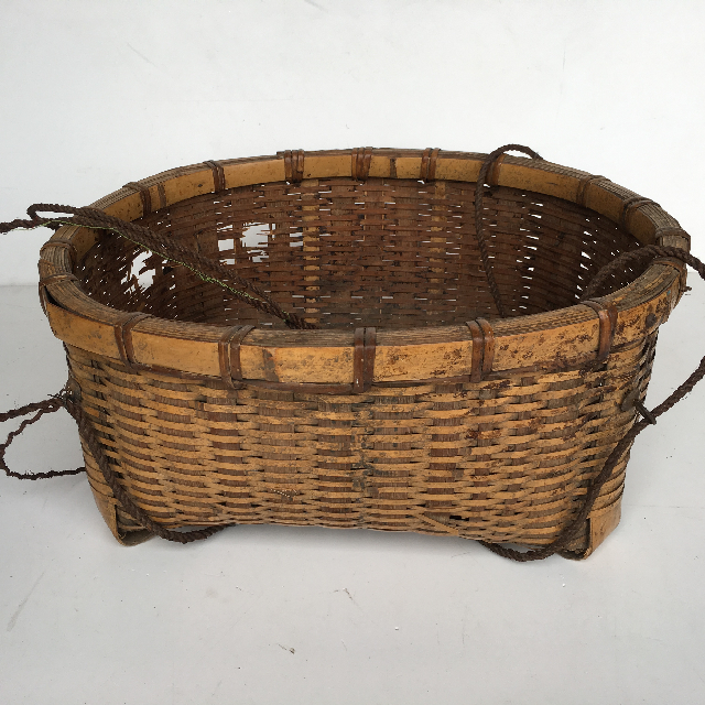 BAS0014 BASKET, Asian Storage 50x20cm H $15